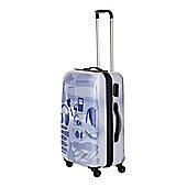 Linea X Ray Colour 4 Wheel Hard Medium Suitcase