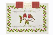 Fabric Placemats,  table Cooksmart of Garden christmas Set Christmas runner tesco 2