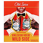 Old Spice Wolfthorn Shower Gel & Deoderant Gift Set
