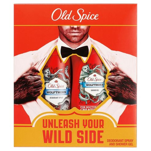 Old Spice Wolfthorn Shower Gel & Deoderant Gift Set