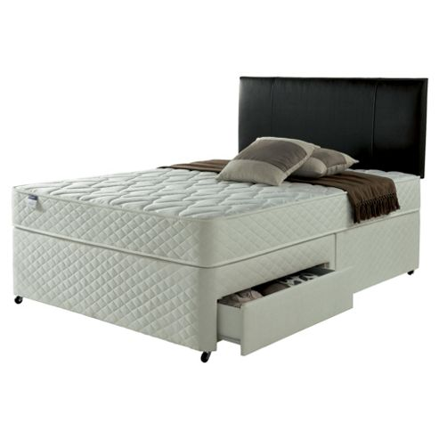 Buy silentnight taplow divan bed miracoil comfort from for Silent night divan beds
