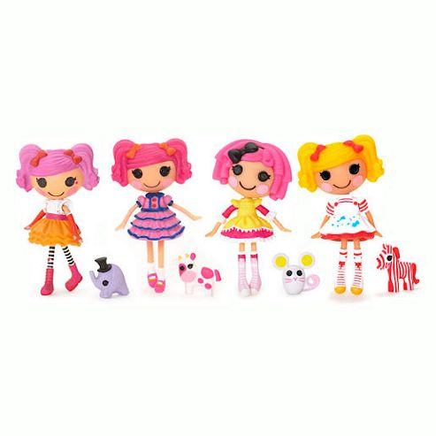 Mini Lalaloopsy Dolls 4 Pack - Set 12