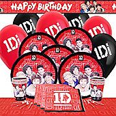 One Direction Party Pack For 8