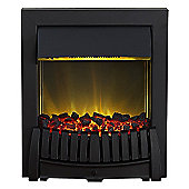 Adam Elise Inset Electric Fire in Black