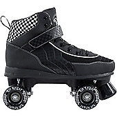 Rio Roller Mayhem Quad Skates - Black/White - UK 10 - Black