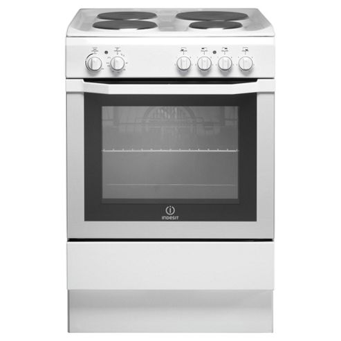 Indesit I6EVA(W) White Electric Cooker, Single Oven