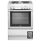 Indesit I6EVA(W), White, Electric Cooker, Single Oven, 60cm