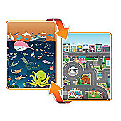 Prince Lionheart Giant Double Sided PlayMAT City and Ocean 190x170cm