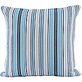Homescapes Cotton New England Stripe Scatter Cushion, 45 x 45 cm