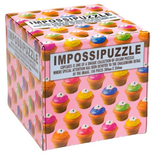 Cup Cakes Impossipuzzle Jigsaw -100 pcs