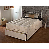 Repose New Bronze 600 Platform Divan Bed - Super King / 0 Drawer