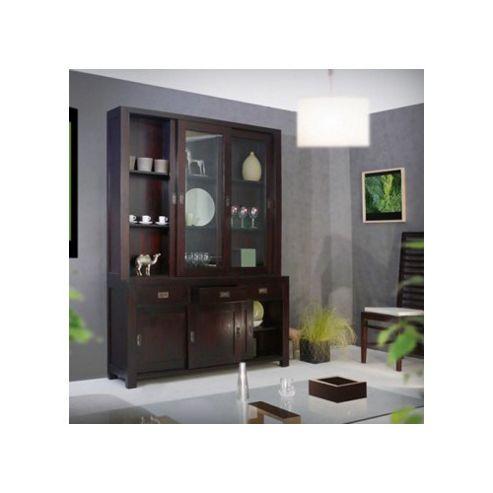 Tikamoon Klaten Mahogany Display Cabinet
