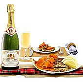 Salmon & Champagne