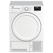 Beko DHY7340W A++ Energy Rated 7kg Load Heat Pump Condenser Dryer in White
