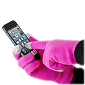 Pink Touch Glove For Smartphone - Smart Glove - ThumbsUp!