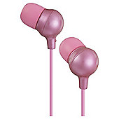 JVC HA-FX30 Marshmallow In-Ear Headphones - Pink