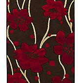 Oriental Carpets & Rugs Verona 216 Beige/Red Rug - 80cm x 150cm