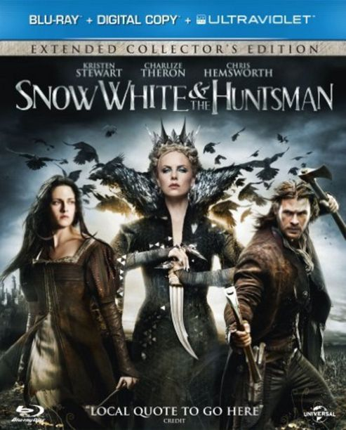 Snow White & The Huntsman (Blu-ray & UV)