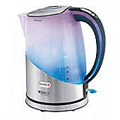 Breville VKJ595 Spectra Illuminated Brita Filter Brushed Steel Kettle