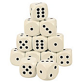 Bigjigs Toys BJ160 Giant Dice White (Pack of 12)