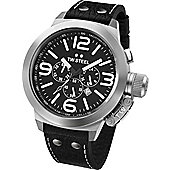 TW Steel Canteen Mens Leather Chronograph Watch TW4