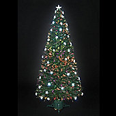 5ft Stargazer Fibre Optic Christmas Tree with 38 White LEDs