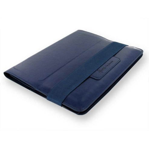 Filofax A5 Flex Ipad Cover Smooth Navy organiser