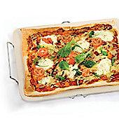 Eddingtons Rectangular Pizza Stone with Rack