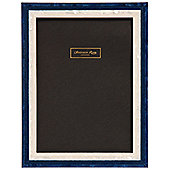 Addison Ross Marquetry Studio Frame in Blue - 5 in x 7 in
