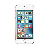 Tesco Mobile iPhone SE 64GB Rose Gold