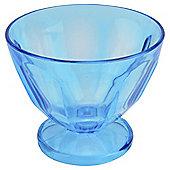 Tesco Picnic Acrylic Sundae Dish Turquoise
