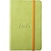 Rhodia Web Notebook A6 Lined Green 118646C