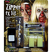 Halloween Special Effects Makeup - Zipper Horror Kit