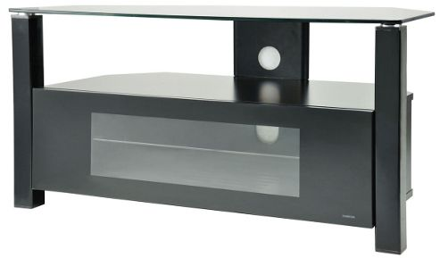 Peerless Boston BOS900 Black Corner TV Stand