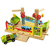 Bigjigs Rail BJT211 Dockside Recycling Centre