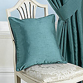 KLiving Ravello Faux Silk Cushion Cover Teal (pack of 4)