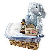 Bath Time Baby Boy Gift Basket