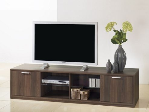 Tvilum Viiwa TV Stand - Dark Walnut