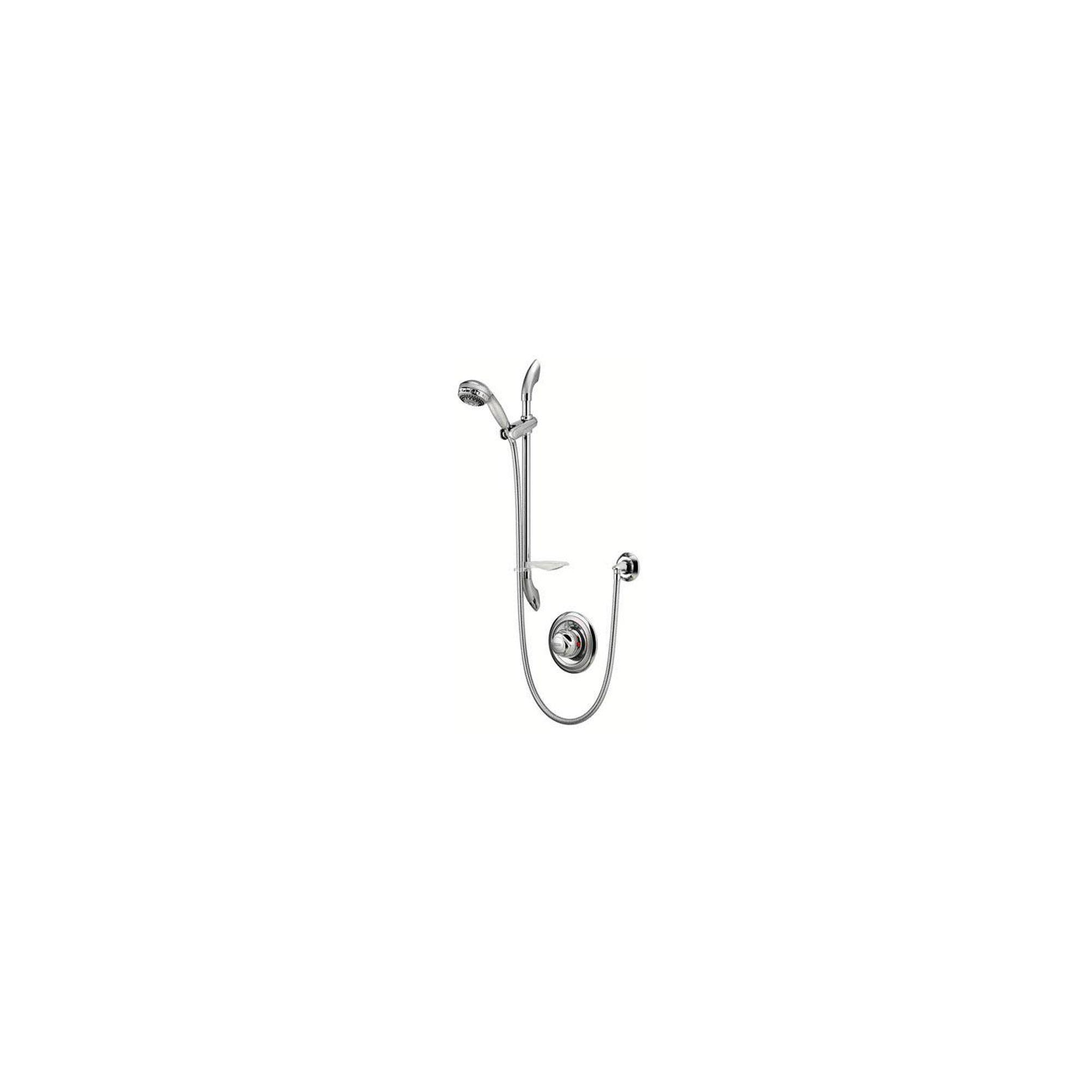 Aqualisa Aquavalve 609 Concealed Shower Valve with Adjustable Shower Head Chrome at Tesco Direct