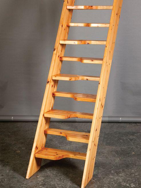 Bergen Wooden Loft Stairs