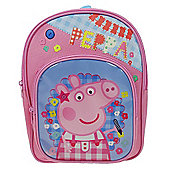 Peppa Pig 'Holiday' Arch Pocket Backpack