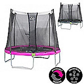 6ft Twist Trampoline Pink / Grey