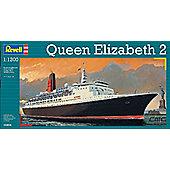 REVELL 1/1200 QUEEN ELIZABETH 2