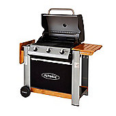 Outback 2016 Model Spectrum 3 Burner Hooded Gas BBQ Black