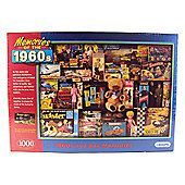 Gibsons - 1960s Toy Box Memories 1000 Piece Puzzle