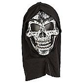 Halloween Plated Hooded Skull Mask