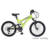 "Muddyfox Cyclone 20"" Kids' Dual Suspension Mountain Bike"