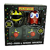 Pac Man & Ghost RC racers Twin Pack