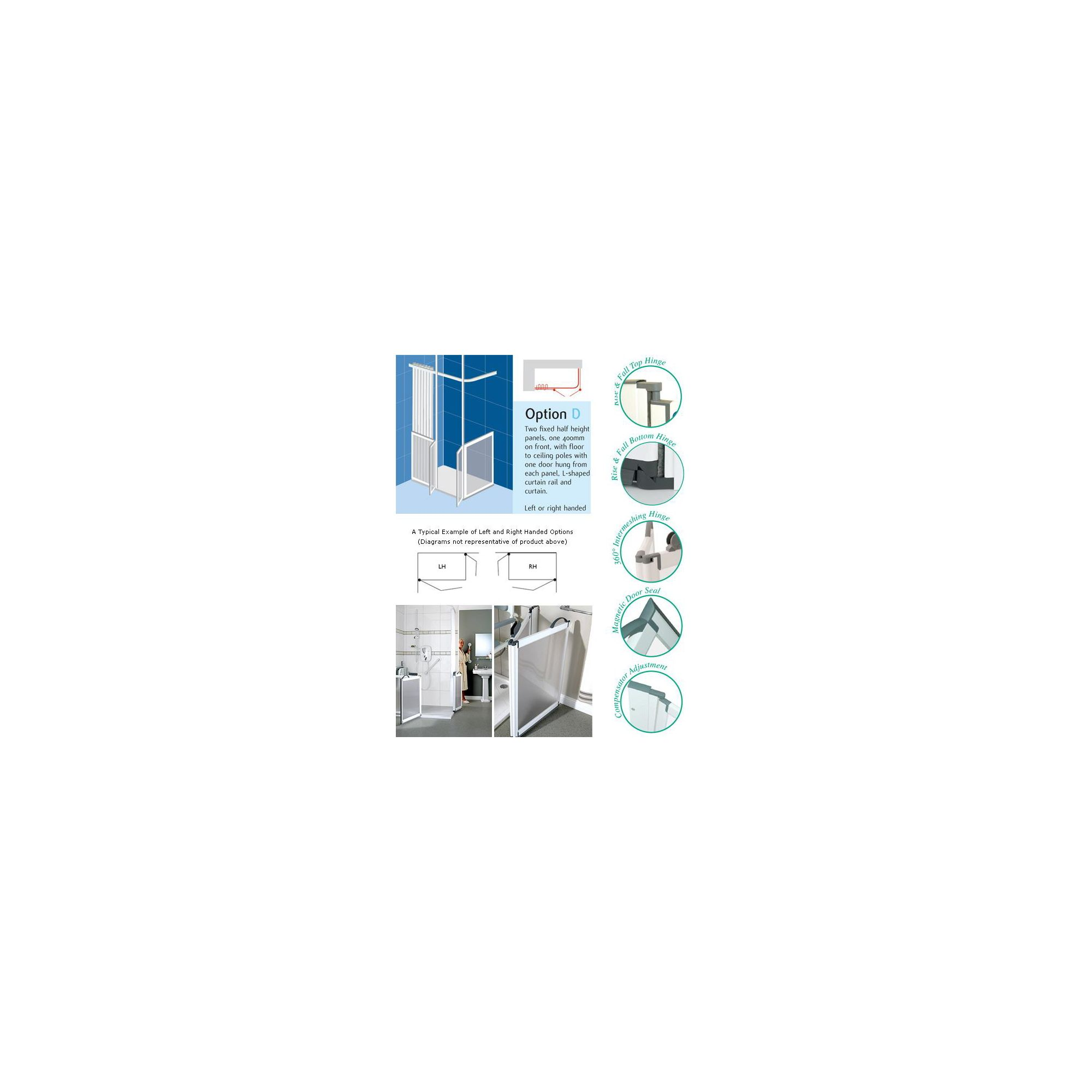 Impey Kentmere Shower Doors OPTION D at Tesco Direct