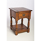 Aspect Design by Wayfair East Indies One Drawer Bedside/Lamp Table